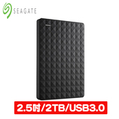 《Seagate 希捷》新黑鑽 2TB USB3.0 2.5吋 行動硬碟