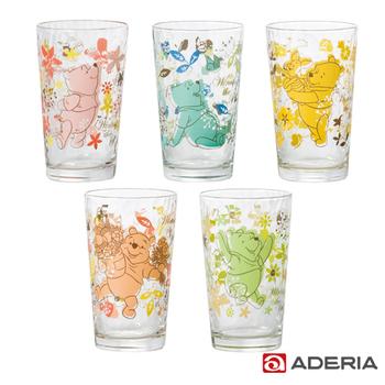 ADERIA 日本進口迪士尼系列維尼玻璃杯套組(S-5780)