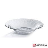 《ADERIA》日本進口Biscuit系列玻璃深型餐盤(中)(H-3661)