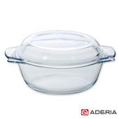 《ADERIA》日本進口耐熱玻璃大型調理鍋(H-3609)