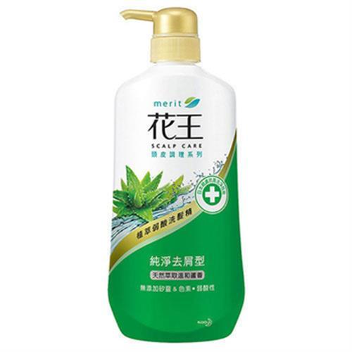 花王 植萃弱酸洗髮精-純淨去屑型(750ml/瓶)