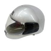 FP 全罩式安全帽(金屬扣) 銀色(KC501)