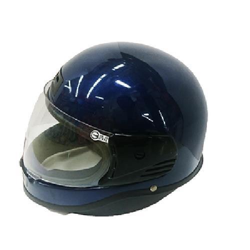 FP 全罩式安全帽(金屬扣) 銀藍(KC501)