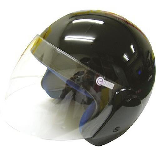 FP 半罩式安全帽(金屬扣) 黑色(KC317)