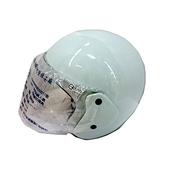 FP 半罩式安全帽(金屬扣) 白色(KC317)