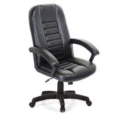《GXG》高背方條 皮面電腦椅 TW-1021 E(黑色)