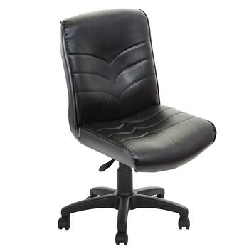 《吉加吉》短背 箭紋 皮椅 TW-1008(黑色)