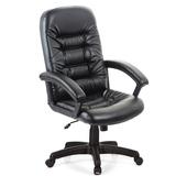 《吉加吉》高背 經典 皮椅 TW-1001(黑色)
