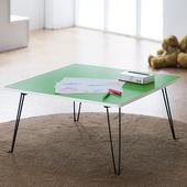 《樂活玩家》魔術方塊圓角小方桌/桌子/和室桌(綠色)
