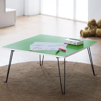 樂活玩家 魔術方塊圓角小方桌/桌子/和室桌(綠色)