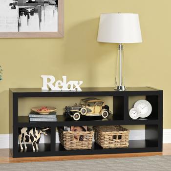 《佳嘉家》DIY羅德尼收納櫃/書櫃/電視櫃-四色選擇(黑色)