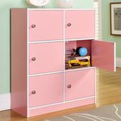 《佳嘉家》DIY輕鬆收納六門櫃/書櫃/置物櫃/收納櫃-兩色選擇粉色 $1288