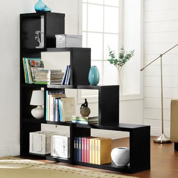 《佳嘉家》DIY席恩展示櫃/書櫃/收納櫃/隔間櫃-四色選擇(黑)