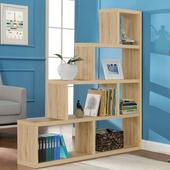 《佳嘉家》DIY席恩展示櫃/書櫃/收納櫃/隔間櫃-四色選擇(淺橡色)
