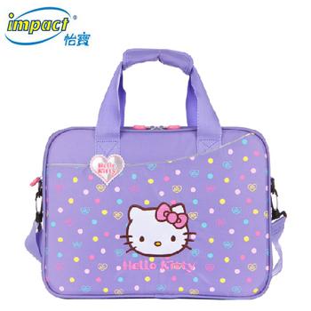 怡寶 HELLO KITTY-聯名款輕量學藝袋(粉紫色)