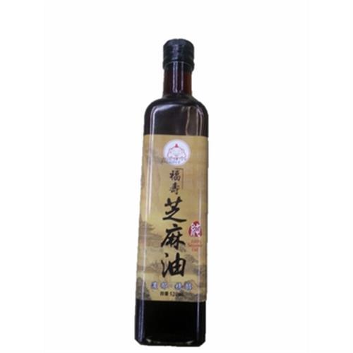 福壽 100%芝麻油(520ml/瓶)