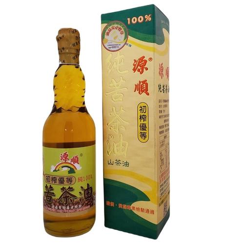 源順 初榨優等純苦茶油(570ml/瓶)