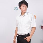 《JIA HUEI》短袖柔挺領吸濕排汗防皺襯衫 3158條紋灰 [台灣製造](16)