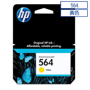 《HP》HP 564 黃色墨水匣(CB320WA)
