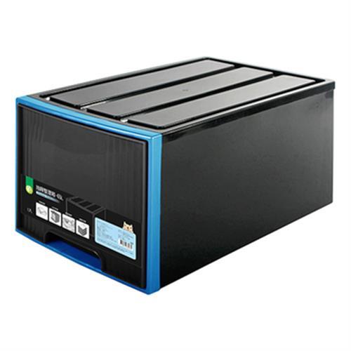 抽屜整理箱 65L(顏色隨機出貨)
