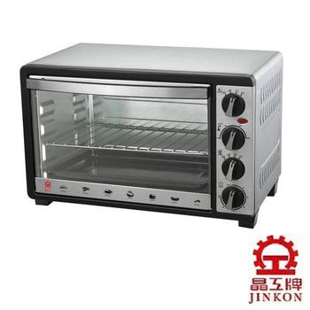 超值組★晶工 30 L不鏽鋼旋風烤箱JK-630★加304不鏽鋼深烤盤(可適用於30公升烤箱)