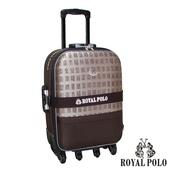 《ROYAL POLO皇家保羅》【29吋】中國風加大六輪旅行箱/行李箱/拉桿箱(咖啡)