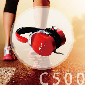 IN2UIT C500 時尚樂活 混和式靜電耳機(法拉利紅)