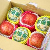 《鮮果日誌》平安順利祝福 禮盒(智利蘋果3入+東勢新興梨3入)