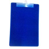 《FP》PVC刮泥門墊-大_藍色(60*90cm)