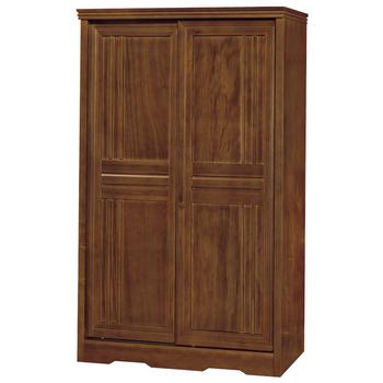 《時尚屋》楓芝林樟木4x7尺推門衣櫥