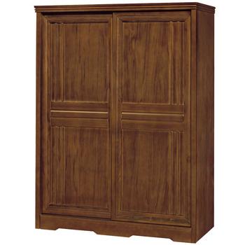 時尚屋 楓芝林樟木5x7尺推門衣櫥