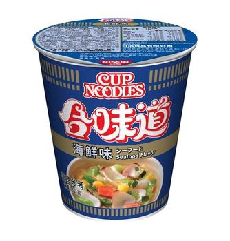 日清 合味道海鮮味杯麵(75g/杯)