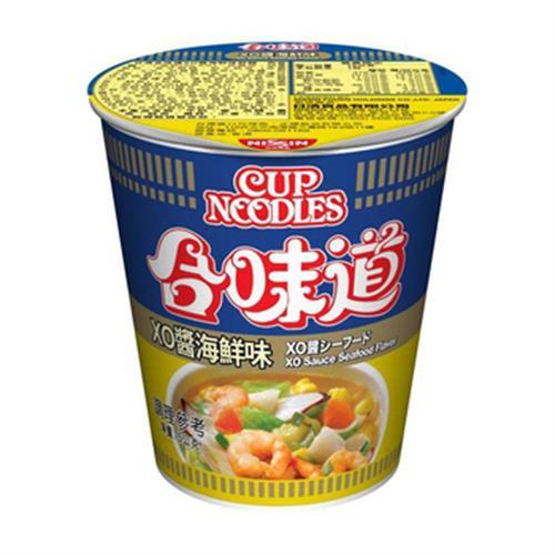 日清 合味道XO醬海鮮味杯麵(75g/杯)