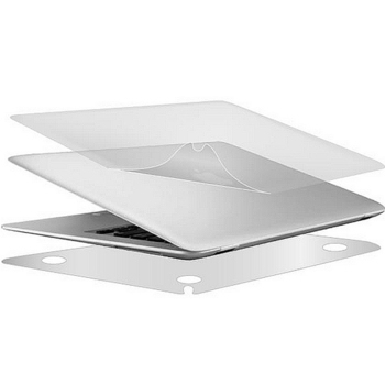 《g-IDEA》APPLE Macbook Air 12 吋 Retina 專用高質感磨砂霧面機身貼