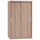 《時尚屋》順益原木色4x7尺衣櫃