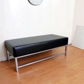 《頂堅》[厚型沙發椅座]15公分(厚)泡棉椅座(皮面)休閒椅/沙發椅子(黑色)