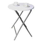 《頂堅》2.2公分鋼管[耐重型]折疊桌(二色可選)(素雅白色)