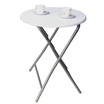 頂堅 2.2公分鋼管[耐重型]折疊桌(二色可選)(素雅白色)