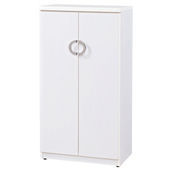 《時尚屋》興隆2尺雙門鞋櫃(白色)