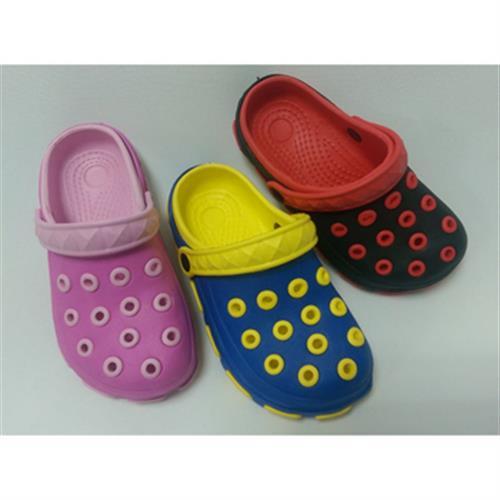 通慶 中小童園丁鞋#B06#(粉-法碼25)