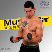 《CHANSON強生》轉動奇肌-上半身複合式肌力訓練器(CS-2102)(紅色)