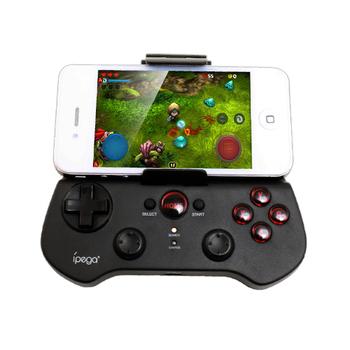 IPEGA 無線手機搖桿 支援Android/ios 伸縮支架 內建鋰電池(白色)