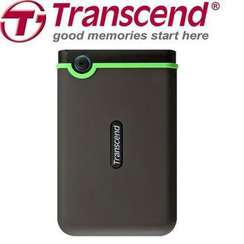 創見 創見 StoreJet 25M3 USB3.0 1TB 2.5吋 軍事抗震行動硬碟 淡藍款 (TS1TSJ25M3B)(25M3)