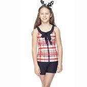《【SAIN SOU】》少女兩件式泳裝附泳帽A82421(M)