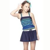 《【SAIN SOU】》少女兩件式泳裝附泳帽A82413(M)