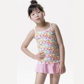 《【SAIN SOU】》【SAIN SOU】SPA/泡湯專用女童兩件式泳裝附泳帽A82213(12)