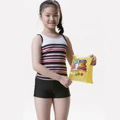 《【SAIN SOU】》女童兩件式泳裝附泳帽A82208(18)