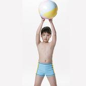 《【SAIN SOU】》【SAIN SOU】SPA/泡湯專用三分泳褲附泳帽A62209(12)