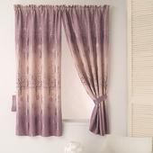 《巴芙洛》左岸有愛印花半腰遮光窗簾(200cm*165cm)