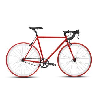 BIKEONE V4 PLUS 26吋單速車 英式時尚經典款-彎把(紅)